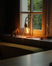 The Cu 120 Copper Table Lamp is an uncommon accent for any desk, dresser or night stand.