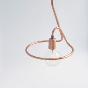 With an industrial flair, the Cu 130 Copper Pendant Light is a great and groovy choice for today's contemporary interiors.