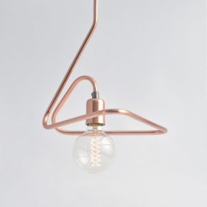 With a versatile design, the Cu 140 Copper Pendant Light will add a vintage touch to your home.