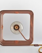With a slim profile, the Cu 447 Copper Table Lamp will provide a soft lighting to any space in your home.