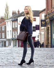 A practical investment for the stylish professional, the Fiorella Ladies Briefcase Work Bag is spacious and elegant featuring multiple pockets and space for a laptop.