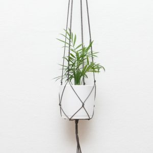 Use the Macrame Plant Hanger Coffee Brown for your office space or make it a handmade gift for friends, boyfriends or family members.
