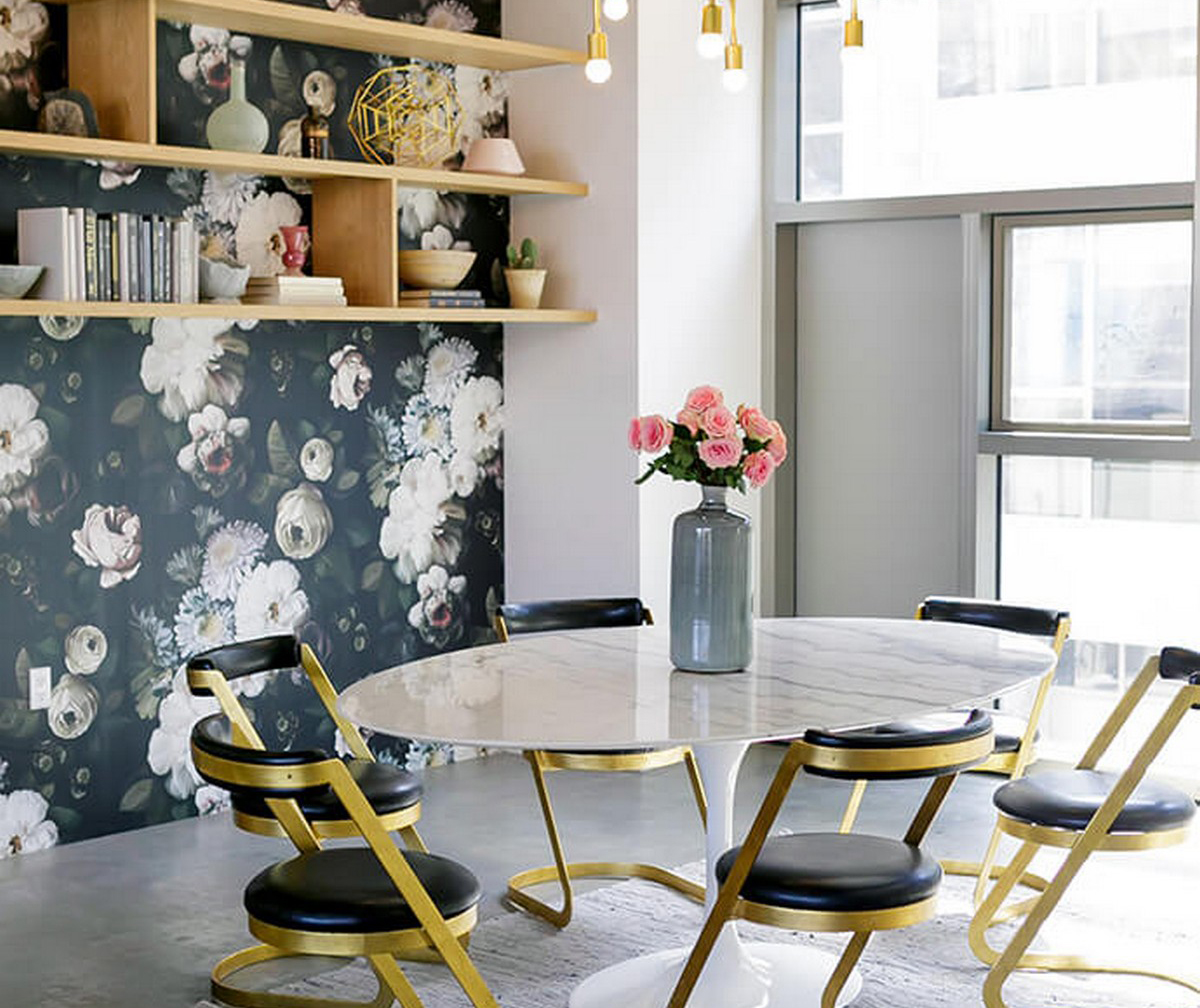 5 fresh floral wallpapers to dress up your home home for Inspire me home decor