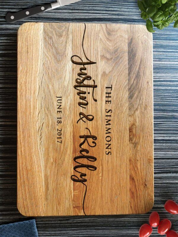 MSDAKD006 – Personalized Cutting Board Wedding Gift – 0