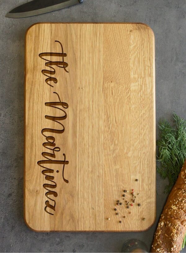 MSDAKD011 – Personalised Cutting Board The Martines – 4