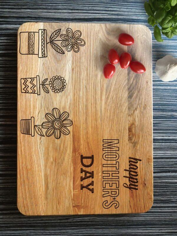 MSDAKD034 – Personalised Cutting Board – Happy Mother's Day