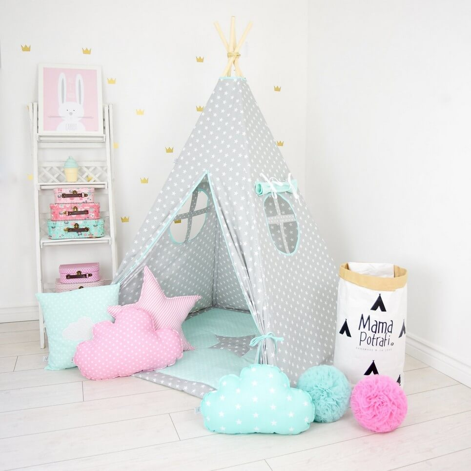 MSGFFK018 u2013 Family Stories Childrenu0027s Teepee Tent  sc 1 st  A Matter of Style & FAMILY STORIES CHILDRENu0027S TEEPEE TENT | Decorative Kidsu0027 Play ...