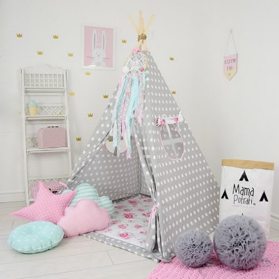 MSGFFK020 u2013 Flower Power Childrenu0027s Teepee Tent & FLOWER POWER CHILDRENu0027S TEEPEE TENT | Decorative Kidsu0027 Play Tents ...