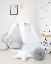 Add the perfect touch to your child's room with the Frozen Children's Teepee Tent. Let your little enjoy their own teepee for hours of play time and imagination.