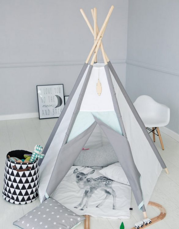 Frosty Plain Childrenu0027s Play Teepee  sc 1 st  Childrenu0027s Teepee Tents u2013 A Matter of Style & Childrenu0027s Teepee Tents u2013 A Matter of Style
