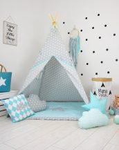 Add the perfect touch to your child's room with the Imaginary Friend Children's Teepee Tent. Let your little enjoy their own teepee for hours of play time and imagination.