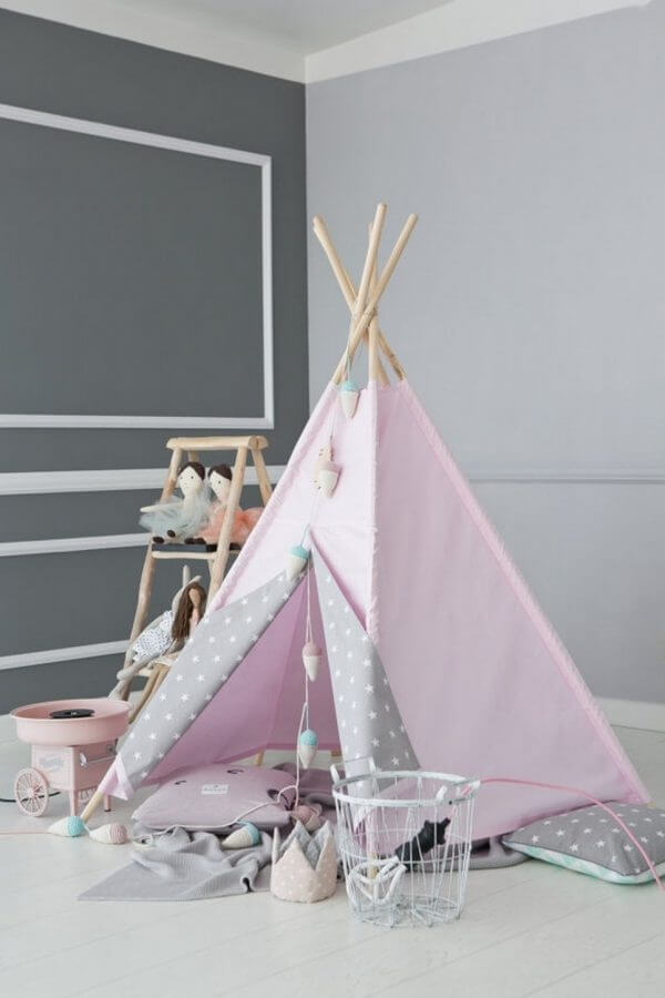 Pink Sky Children's Play Teepee