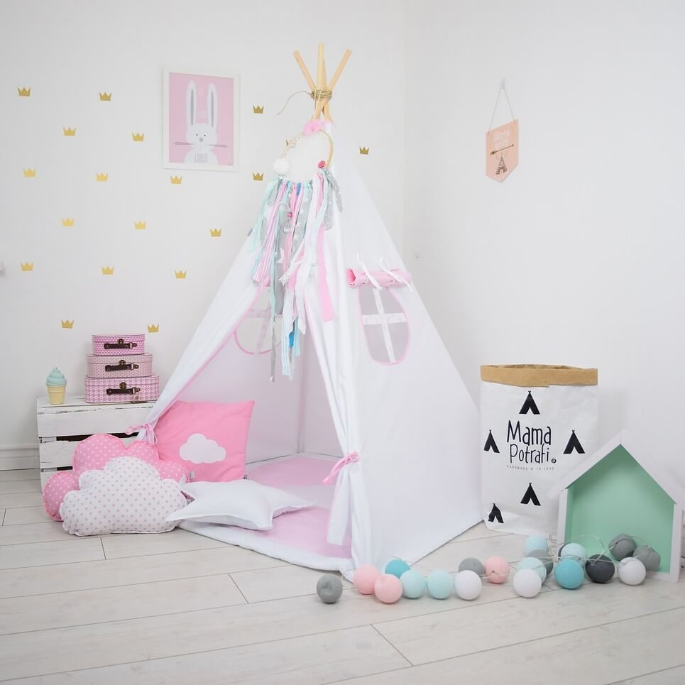 Snow Queen Children's Teepee Tent
