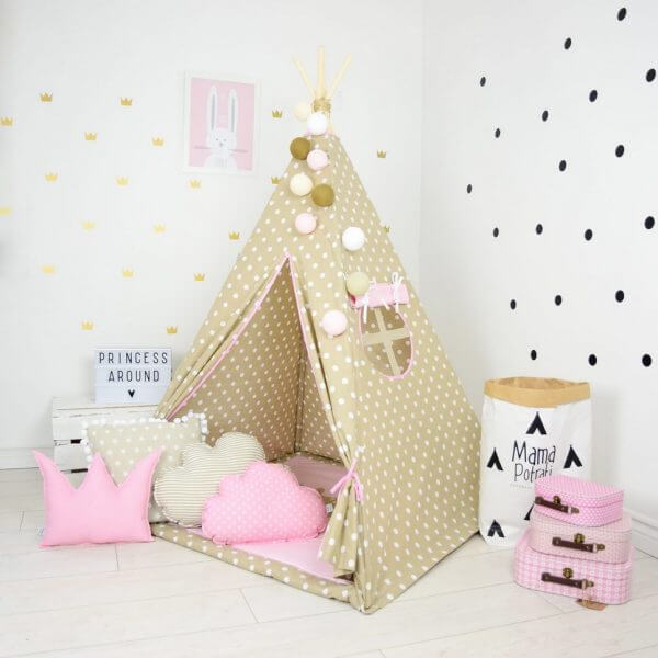 Vanilla Queen Children's Teepee Tent