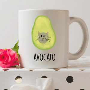 Sip your favourite tea or coffee with the Avocato Coffee Mug that makes a fantastic present or a little treat for yourself.