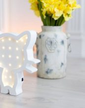 With a charming design, the Cat Wooden Night Light provides a reassuring glow for your little one, making it perfect for a nursery or kids room nightlight, or an interesting addition to any other space.