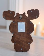 With a charming design, the Deer Wooden Night Light provides a reassuring glow for your little one, making it perfect for a nursery or kids room nightlight, or an interesting addition to any other space.