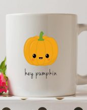 Sip your favourite tea or coffee with the Hey Pumpkin Coffee Mug that makes a fantastic present or a little treat for yourself.