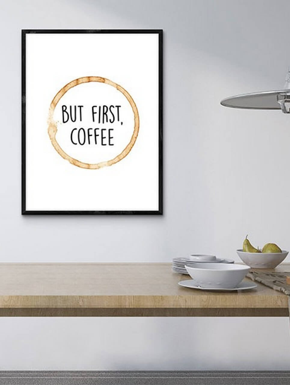 But First Coffee Wall Decor Poster By A Matter Of Style