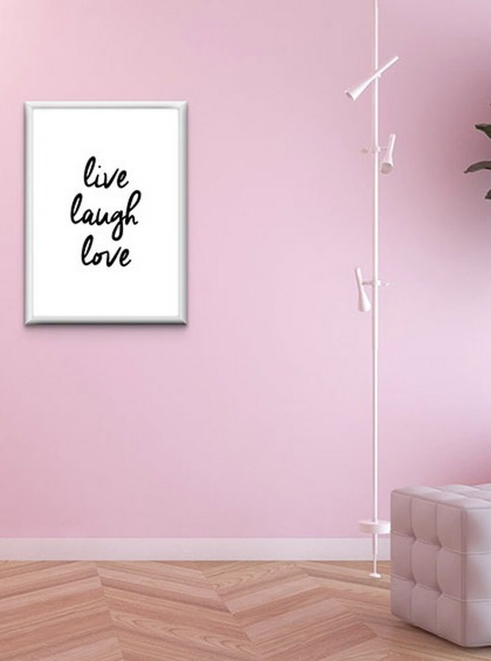 Home Wall Poster Live Laugh Love