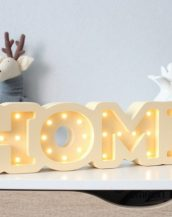 With a charming design, the Home Wooden Night Light provides a reassuring glow for your little one, making it perfect for a nursery or kids room nightlight, or an interesting addition to any other space.
