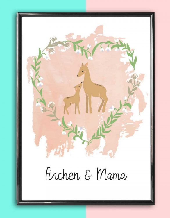 Add some effortless style to your home with the Personalised Mother's Day Print that will compliment your interior décor.