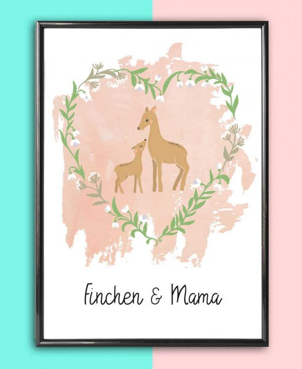 Personalised Mother's Day Print – Rehe_2