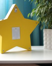 With a charming design, the Star Wooden Night Light provides a reassuring glow for your little one, making it perfect for a nursery or kids room nightlight, or an interesting addition to any other space.