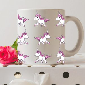 Sip your favourite tea or coffee with the Unicorn Coffee Mug that makes a fantastic present or a little treat for yourself.