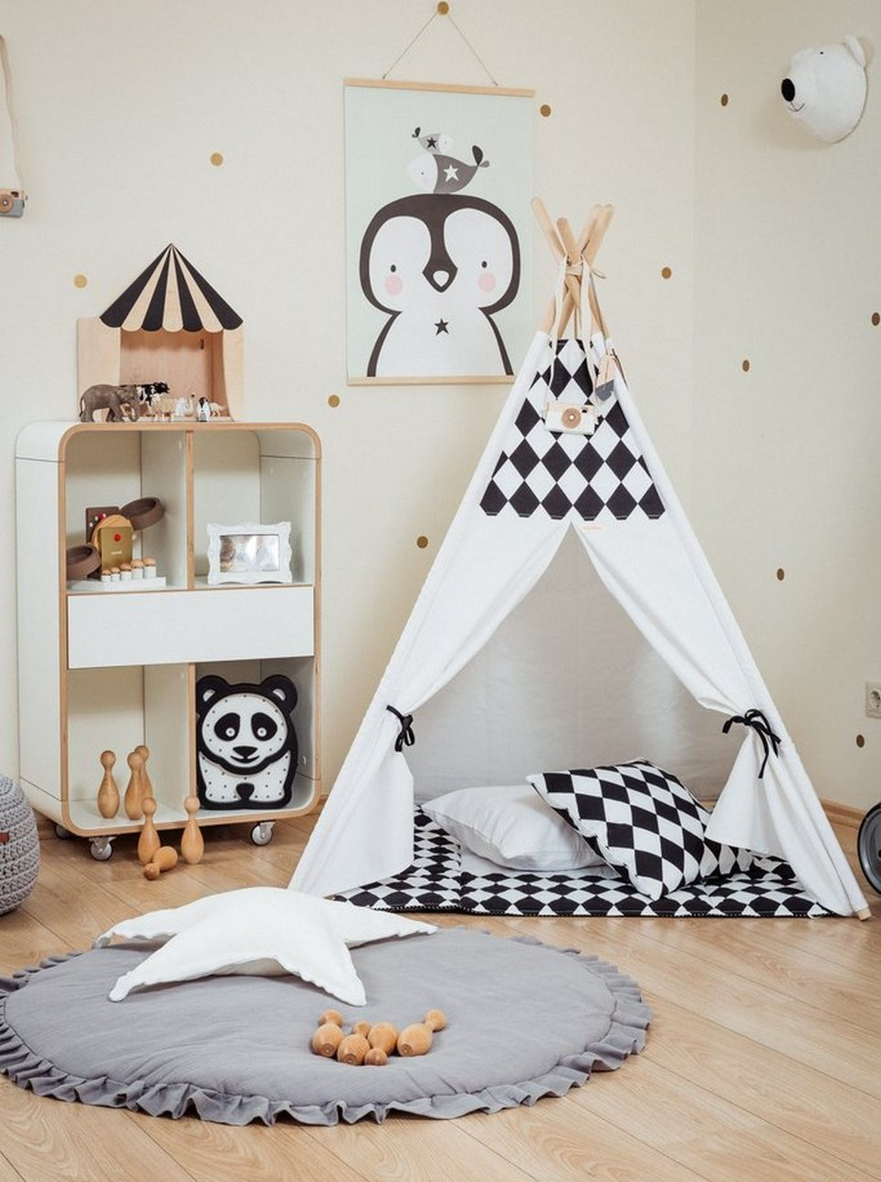 Black Rombs Children's Teepee Set_2