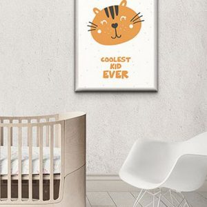 Perfect for any room in the home, the Children's Poster - Coolest Kid Ever is a great piece of daily inspiration for your walls.