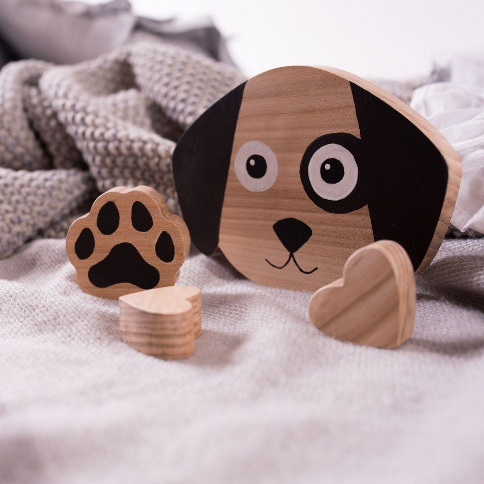 Dog Wood Toy