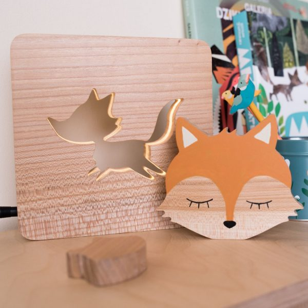 Fox Wood Toy