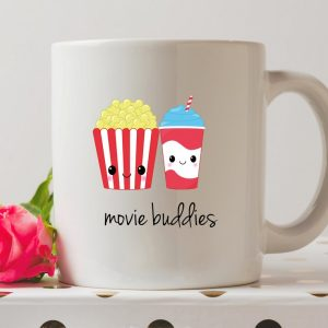 Sip your favourite tea or coffee with the Movie Buddies Coffee Mug that makes a fantastic present or a little treat for yourself.