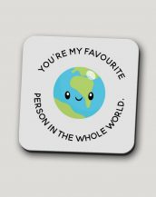 Sip your favourite tea or coffee with the You're My Favourite Person In The World Coffee Mug that makes a fantastic present or a little treat for yourself.