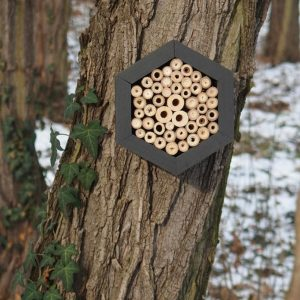 Designed to look wonderful in a garden, the Bee Hotel Blackjack is an ideal gift for a gardener or a wildlife enthusiast as well as anyone with a garden who is interested in garden design.
