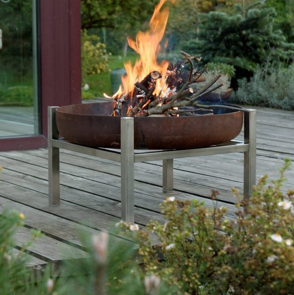 Crate Outdoor Fire Pit