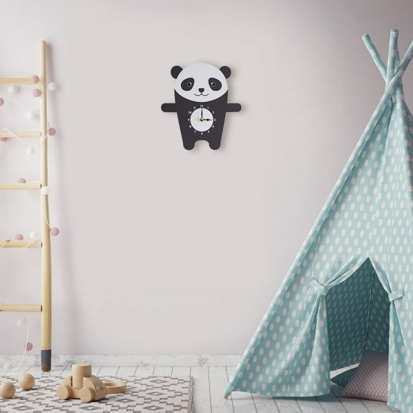 Penny The Panda Wall Clock