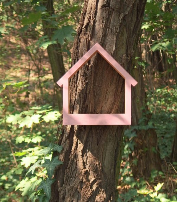 Wooden Bird Feeder Stella Pinky – 6