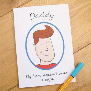 Send your love and warmth with the 'Hero' Father's Day Card. An ideal gift for a birthday or anniversary, this is a truly unique keepsake card that lets your other half know just how much they mean to you.
