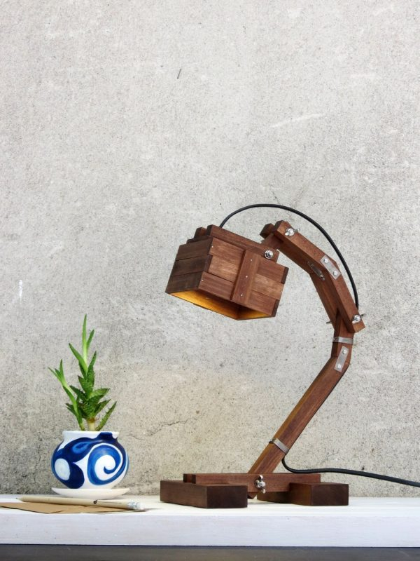 Kran Evo Wooden Desk Lamp – 5