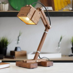 Create ambiance in a workspace of your choice with the Kran M Adjustable Desk Lamp. This eye-catching piece of work holds an inspiring and creative style that would suit any professional environment.