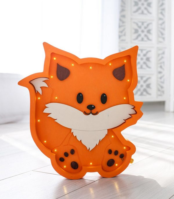Fox Decorative Night Light – 7