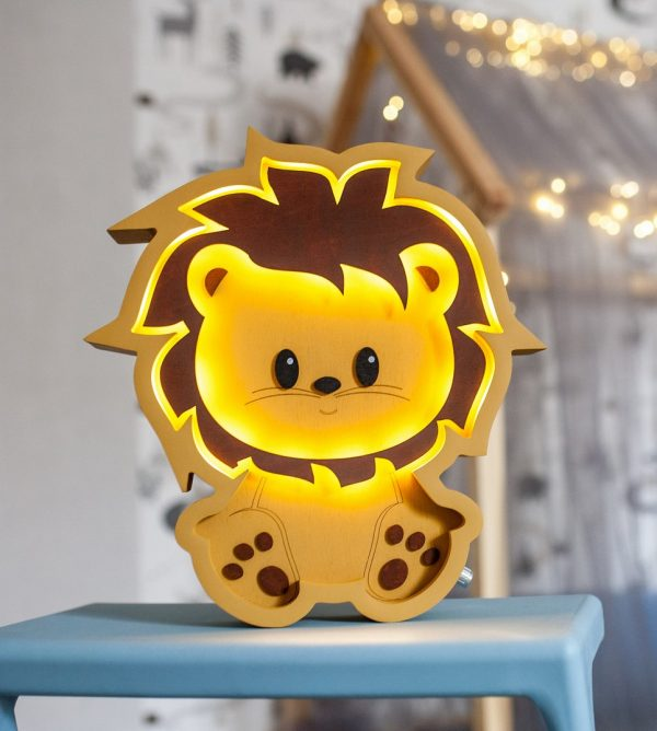 Lion Decorative Night Light – 8