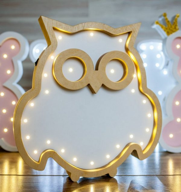 Owl Decorative Night Light – 3