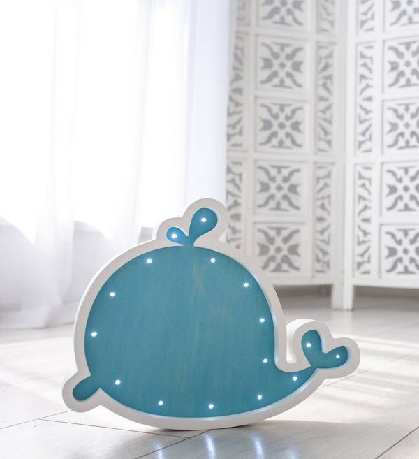 Blue Whale Decorative Night Light – 3