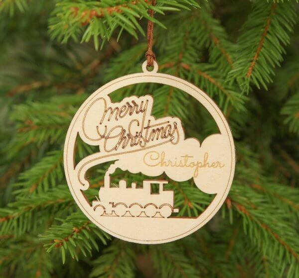 Merry Christmas – Personalised Christmas Ornament – 2