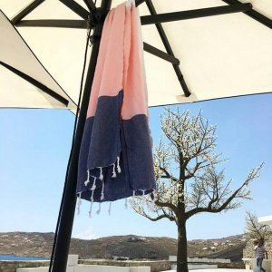 A chic and useful present for both men and women, the Kai Turkish Bath Towel will look truly stunning in your bathroom.