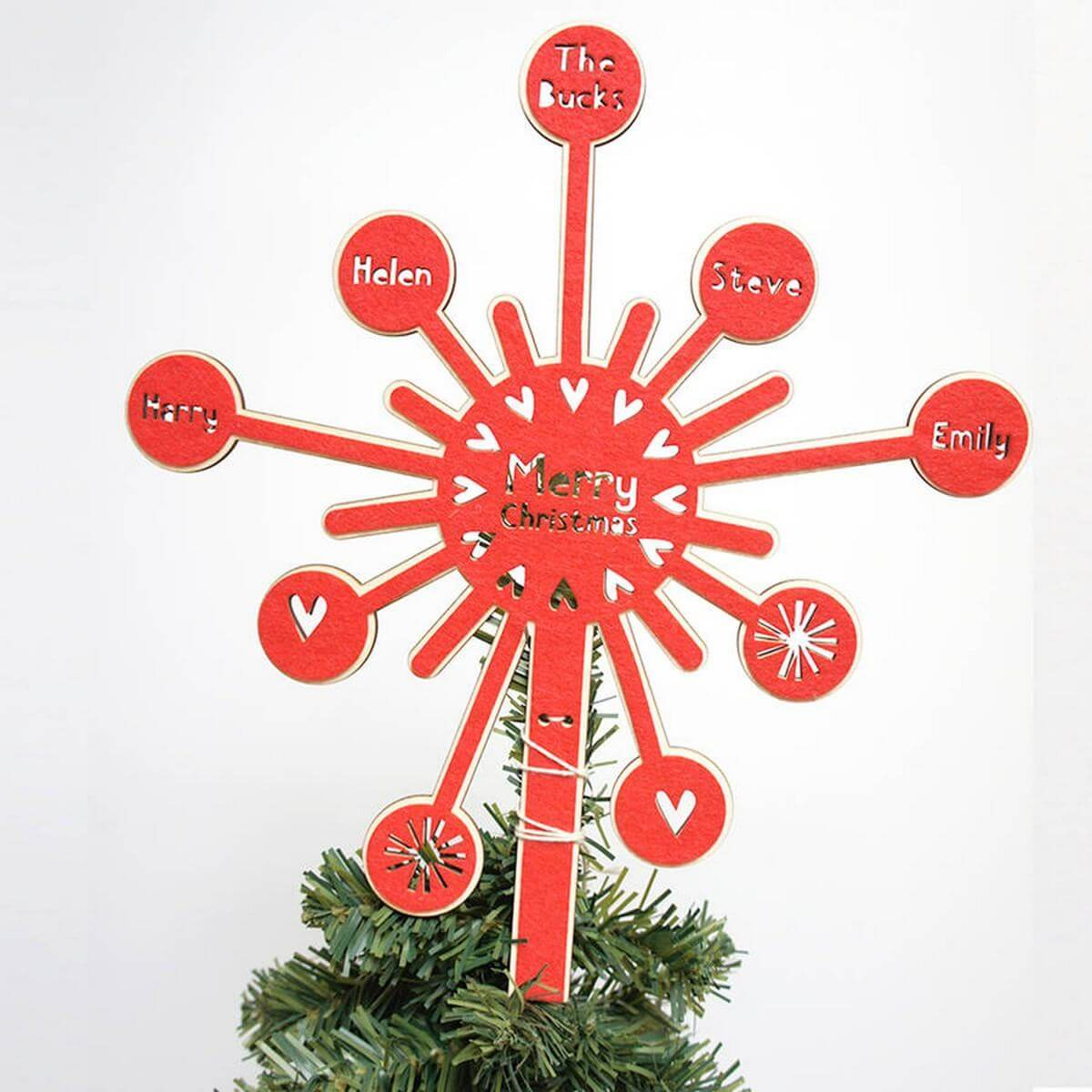 Let these smart ideas cap off your holiday decor.