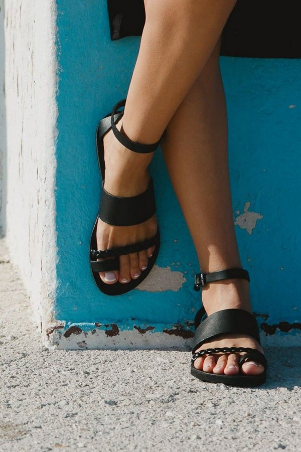 HeraGreek Leather Sandal